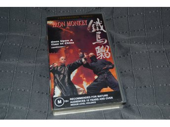 Iron Monkey - VHS Chinatown 1993 Video English Subtitles