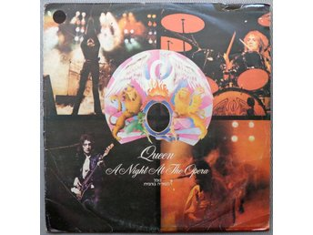QUEEN 'A Night At The Opera' 1975 Israelian LP