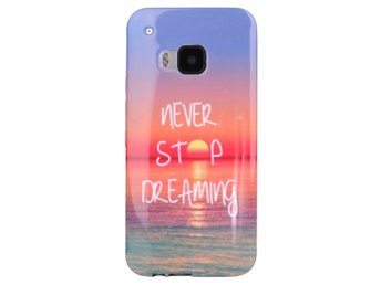 HTC One M9 TPU Skal Never Stop Dreaming