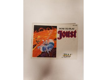 Joust - Manual NES NINTENDO - USA