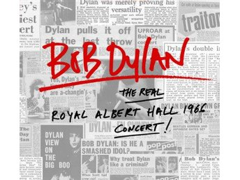 Dylan Bob: Real Royal Albert Hall 1966 Concert (2 Vinyl LP)