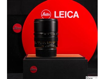 Leica APO-Summicron-M  75 mm f2 ASPH. 6 bits kodad  MADE IN GERMANY