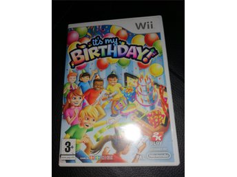 Nintendo Wii Its my birthday party