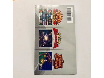 Reklamblad Gamecube /GC Pikmin 2 / Metroid / Animal Crossing (P-DOL-EUR-4)
