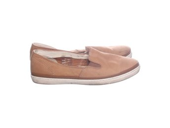 DS Shoes by DinSko, Slip-Ons, Strl: 39, Brun, Skinnimitation