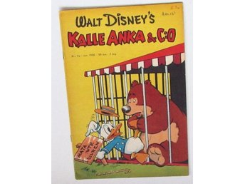 Original Walt Disney  Kalle Anka 1950 no. 11