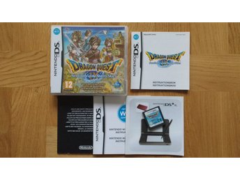 Nintendo DS: Dragon Quest IX 9 (svenskt/SWD)