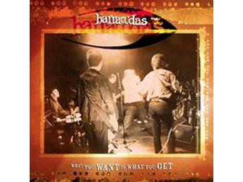 Barracudas - What You Want Is What You Get - 7'' NY - FRI FRAKT