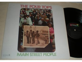 Four Tops Lp Main Street People Us 1973 VG++