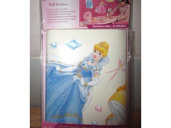 Disney Princess Väggmärken Glitter Diamanter Wall stickers