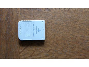Memory card (minneskort) till playstation 1