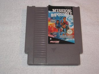 Mission Impossible till Nintendo NES 8-bit, PAL-B