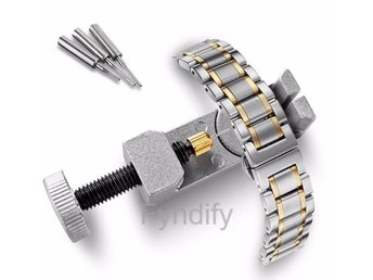 Professional Watch Band Link Pin Tool Silver