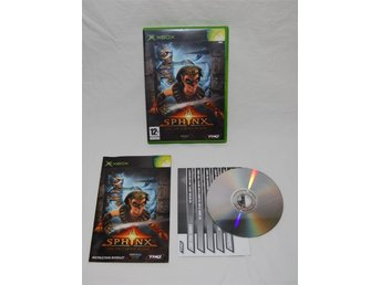 Sphinx and the Cursed Mummy XBOX THQ