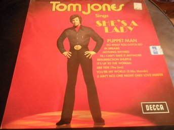 tom jones shes a lady lp