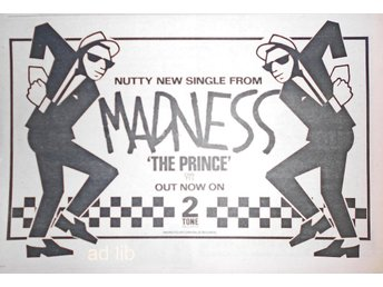 MADNESS - THE PRINCE, TIDNINGSANNONS 1979