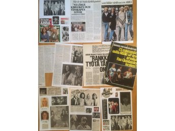 ABBA utklipp articles clippings  1976. Great condition