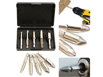 5PCS 1/4?HEX SHANK, EASY SPEED OUT, SCREW EXTRACTOR REMOVER DRILL PRACTICAL TOOL
