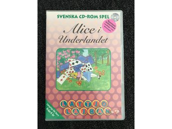 Alice i underlandet - Lattjo Lajban - PC spel CD-ROM