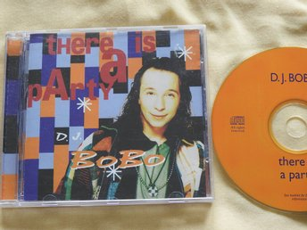 D.J. BoBo - There is a party CD 1994 Eurodance