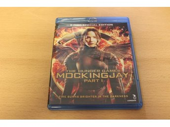 Blu-ray: The hunger games: Mockingjay - part 1 (Jennifer Lawrence) (2-discs)
