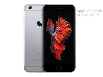 Apple iPhone 6s 32GB, svart, black, GOTT SKICK
