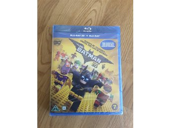 "Ny, oöppnad ""Lego Batman the Movie"", BLU-RAY 3D + BLU-RAY"