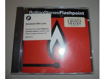 "CD - Rolling Stones ""Flashback"" - Greatest Hits Live"