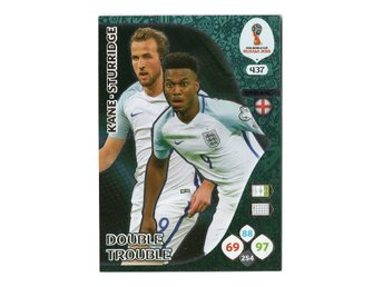 2018 Panini Adrenalyn XL FIFA World Cup Russia Double Trouble Kane - Sturridge