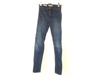 Abercrombie & Fitch, Jeans, Strl: 16, Blå