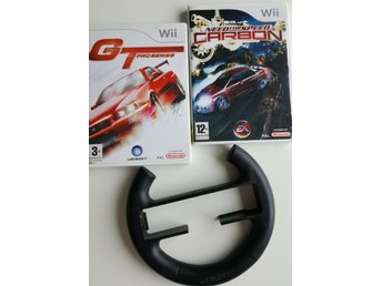 Wii Need for Speed Carbon + GT Pro Series + Ratt