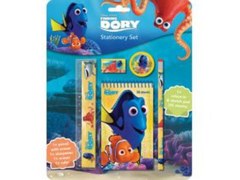 Hitta Doris - Finding Dory Kit Stationary set - Brevpappersset, block, penna