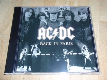 AC/DC - BACK IN PARIS CD / LIVE FRANCE 1980 LIMITED RARE!