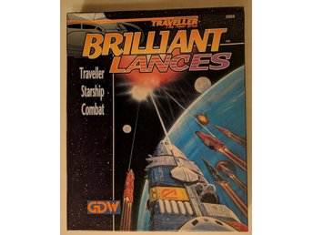 GDW. Brilliant Lances, Traveller Starship Combat.