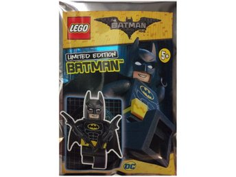 Lego - Figur Batman Svart 211701  Limited Edition FP