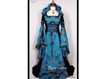 Lajv medeltid klänning (334885820) ᐈ Köp på Tradera 4a52b23a4eaf7