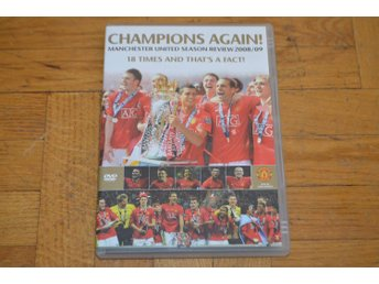 Manchester United - Champions Again - Season Review 2008-2009 - DVD