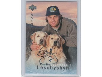 Be A Player BAP 95-96 Autograf # S129 LESCHYSHYN Curtis