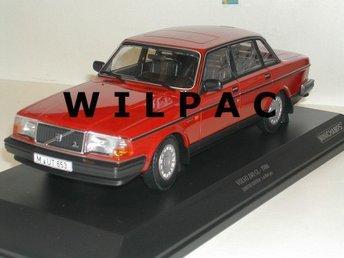 NYTT: Minichamps 1:18 (stor och FIN) Volvo 244 240 GL 1986 röd diecast - Zundert (nl) - NYTT: Minichamps 1:18 (stor och FIN) Volvo 244 240 GL 1986 röd diecast - Zundert (nl)