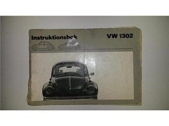 Volkswagen 1302 (Bubbla) Instruktionsbok/Handbok 1970. - Hishult - Volkswagen 1302 (Bubbla) Instruktionsbok/Handbok 1970. - Hishult