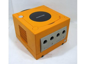 Gamecube, japansk, orange