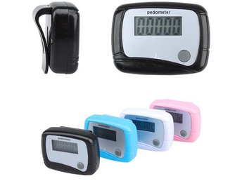 Stegräknare Pedometer Portable Mini Digital LCD Running Jogg