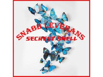 12 st 3D Fjärilar - Väggdekor - Blå ( Leveranstid 2 dagar ) - Shenzhen - 12 st 3D Fjärilar - Väggdekor - Blå ( Leveranstid 2 dagar ) - Shenzhen