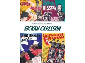 DVD Sickan Carlsson Box - Kristianstad - DVD Sickan Carlsson Box - Kristianstad