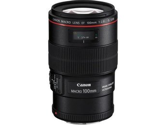 Canon Macro Lens EF 100mm 1: 2.8 L IS USM