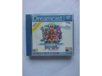 DC - Phantasy Star Online Sega Dreamcast