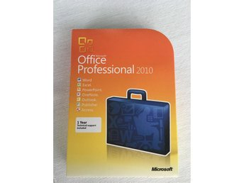 Microsoft Office Professional 2010 32-bit/x64 English DVD