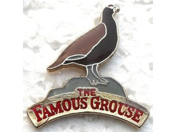 Pin - Whiskey - The Famous Grouse