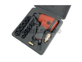 Air Impact Wrench Kit 1/2in Drive 17pc Set 230 ft/lb 311 Nm Torque