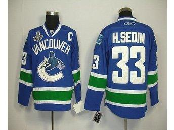 H. Sedin Vancouver hemma tröja L/XL - Landskrona - H. Sedin Vancouver hemma tröja L/XL - Landskrona